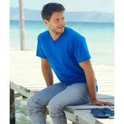 Camiseta valueweight cuello pico