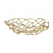 Tom Dixon Bone Bowl Schaal Brass