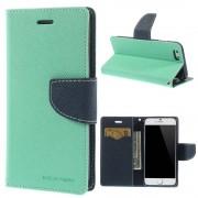 Mercury Pouzdro / kryt pro Apple iPhone 6 / 6S - Mercury, Fancy Diary Mint/Navy
