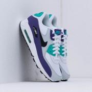 Nike Air Max 90 Essential White/ Black-Hyper Jade-Court Purple