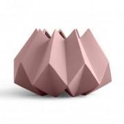Menu Folded Vase Ø 220 H: 150 mm, taupe 4763959