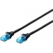 Patch Cord UTP, Premium, RJ45, Cat.5e, 5m, Negru