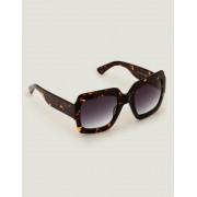 Boden Schildpattmuster Rom Sonnenbrille Damen Boden, Eine Größe, Brown