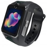 "Smartwatch MyKi Junior SE, Procesor Dual-Core 1.2GHz, Display TFT LCD 1.4"", Wi-Fi, Bluetooth, 3G, Camera, dedicat pentru copii (Gri)"