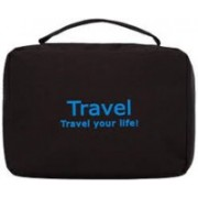 Everbuy Cosmetic Pouch(Black)
