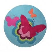 Kindertapijt Butterflies