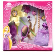 SET ACCESORII PENTRU PAR RAPUNZEL MAGICAL FLOWER - BOLEY (82351DI)