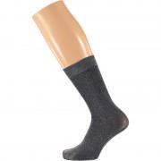 Sarlini Zwarte dames party glitter sokken lurex maat 36-41