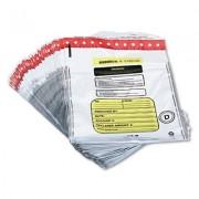 Tamper-Evident Deposit/cash Bags, Plastic, 12 X 16, White, 100 Bags/box