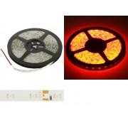 NTR LEDS12RD Vízálló IP65 LED szalag SMD3528 60LED/m 4.8W/m 12V DC piros 1fm