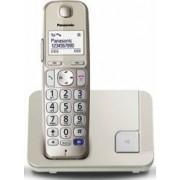 Telefon Dect Panasonic KX-TGE210FXN Champagne Silver