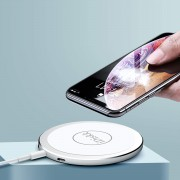 IDISKK Fast Charge Wireless Charger Pad (Not Support FOD Function) for iPhone Samsung, etc