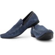 Franco Leone Loafers For Men(Blue)
