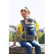je porte mon bébé Porte-bébé JPMBB PhysioCarrier Eléphant poche Bleu Paon