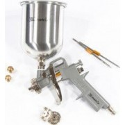 Pistol pneumat. p/u vopsit rezervor-part. de sus V1 0 L diametru duze 1.2 1.5 si 1.8 mm// MTX