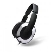 Creative HQ-1600 Over-the-ear Headphones - слушалки с микрофон за смартфони и мобилни устройства (черен-хром)