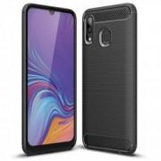 Carcasa TECH-PROTECT TPUCARBON Samsung Galaxy A40 2019 Black