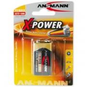 Ansmann Batteri Ansmann E-block 9V 6LR61 9V 1-pack