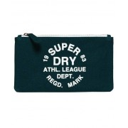 Superdry Athletic League Pencil Case Green