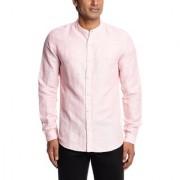 Mens Casual Shirt Pink Color Shirts
