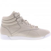 Reebok Freestyle Hi Muted - Dames Platte Sneakers
