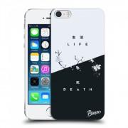 Átlátszó szilikon tok az alábbi mobiltelefonokra Apple iPhone 5/5S/SE - Life - Death
