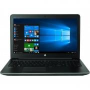 Laptop HP Zbook 15 G4 15.6 inch Full HD Intel Core i7-7700HQ 16GB DDR4 1TB HDD 256GB SSD nVidia Quadro M2200 4GB FPR Windows 10 Pro Black