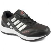 Asian Men's Black Red Running Shoe
