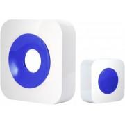OPTEX Funk Türklingel, Farbe weiß-blau (990228)