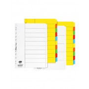 Bantex A4 Manilla Dividers Coloured