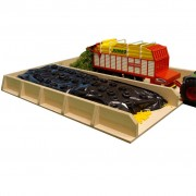 Kids Globe Silage Pit for Tractors 1:32 610451