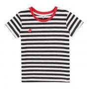 Garnamama majica za dječake, 134, bijela/crvena