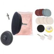 DIY Crafts 20 Gram Cerium Oxide Polishing Powder with Glass Polishing Kit (Pack of 21 Pcs)