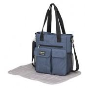 Coimasa Pirulos bolso Carry azul con cambiador Denim