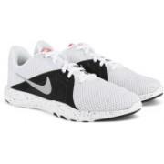 Nike W NIKE FLEX TRAINER 8 Casuals For Women(White)