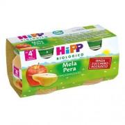 Hipp Gmbh & Co. Vertrieb Kg Hipp bio omogeneizzato frutta mela e pera 2 x 80 g