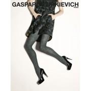 Gerbe Elegant strumpbyxa med mönster Infini från Gaspard Yurkievich with Gerbe bleu nuit-noir 1