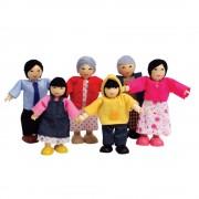 Set figurine - Familie Asiatica