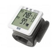CA-MI Misuratore di Pressione Da Polso - Sfigmomanometro Automatico Digitale con 120 Memorie