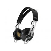 Sennheiser Auriculares Bluetooth SENNHEISER Momentum 2 Inalámbricos (On ear - Micrófono - Negro)