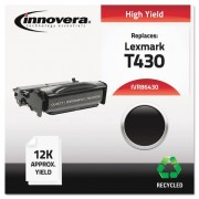 Remanufactured 12a8325 (t430) High-Yield Toner, Black