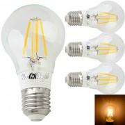 youoklight E27 4W 4 - COB Edison LED blanco calido bombilla ( 4 PC ? CA 85-265V )