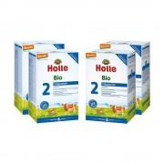 Holle 4x Holle Bio-Folgemilch 2 nach dem 6. Monat (4x600g)