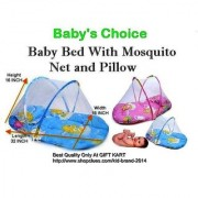 Comfortable Baby Bed with Mosquito Net at Best Price CODEgu-0572
