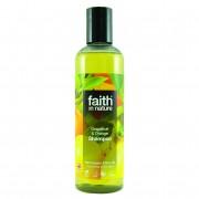 Sampon Faith in Nature, cu grapefruit si portocale, pt. par normal sau gras, 250 ml