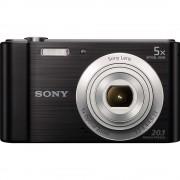 Sony DSC-W800 Aparat Foto Compact 20,1 MP Zoom Optic 5x Negru