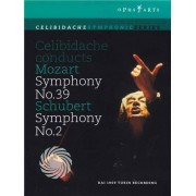 Video Delta Celibidache conducts Mozart (Symphony No.39) & Schubert (Symphony No.2) - DVD