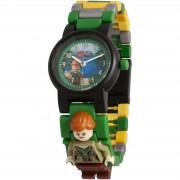 Lego Jurassic World Claire Minifiguur schakel horloge