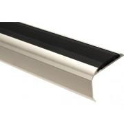 Protectie treapta aluminiu 1000x39x26,5 mm argintiu