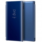 Cool Funda Flip Cover Clear View Azul para Samsung Galaxy Note 10 Plus